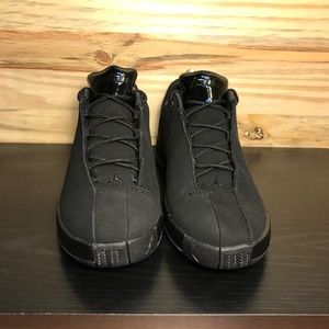 03e3c30d6fede4 Nike Shoes - New Nike Air Jordan Team Elite 2 Low Triple Black
